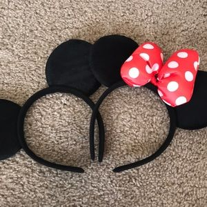 Mickey/Minnie Mouse Ears
